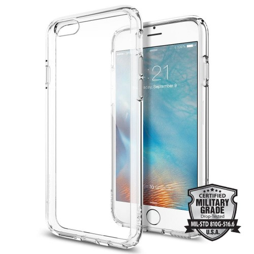 SPIGEN ULTRA HYBRID IPHONE 6-6S (4.7) CRYSTAL CLEAR 1.jpg