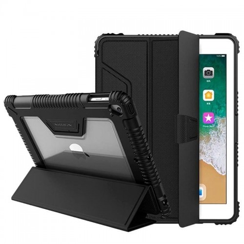 NILLKIN ARMOR LEATHER CASE IPAD 9.7 2017-2018 BLACK 1.jpg