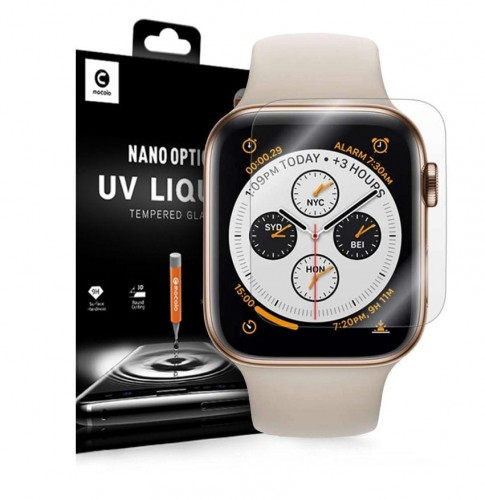 SZKŁO HARTOWANE MOCOLO UV GLASS APPLE WATCH 4 (40MM) CLEAR 1.jpg