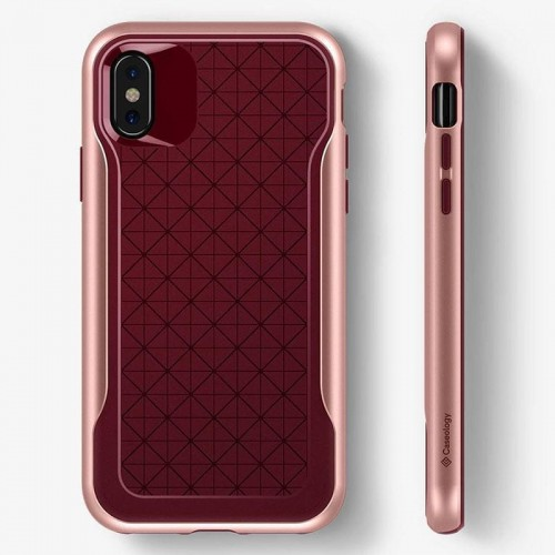 CASEOLOGY APEX CASE - ETUI IPHONE XS-X (BURGUNDY) 1.jpg