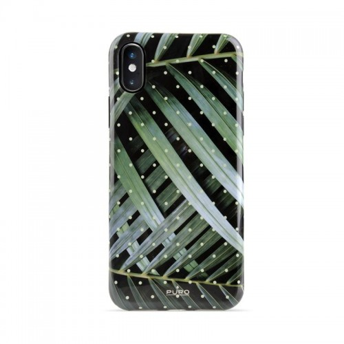 "Etui do iPhone X/XS (5.8"") Puro Glam Tropical Leaves"