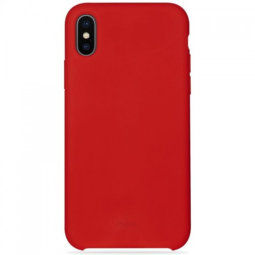 "Etui do iPhone X/XS (5.8"") Puro Icon Cover [czerwony]"