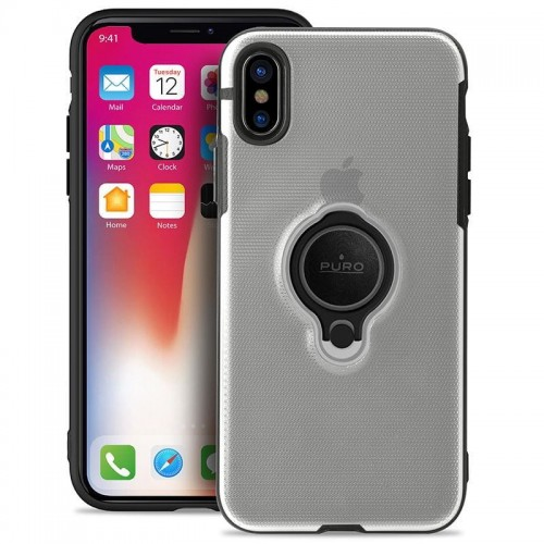 PURO MAGNET RING COVER - ETUI IPHONE XS MAX (PRZEZROCZYSTY) 1.jpg