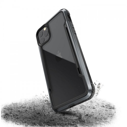 X-DORIA DEFENSE SHIELD - ETUI ALUMINIOWE IPHONE 11 PRO MAX (BLACK) 1.jpg