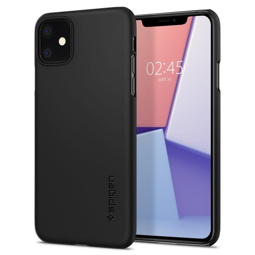 Etui do iPhone 11 Spigen Thin Fit [czarny]