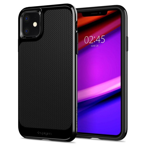 ETUI SPIGEN NEO HYBRID IPHONE 11 MIDNIGHT BLACK 1.jpg