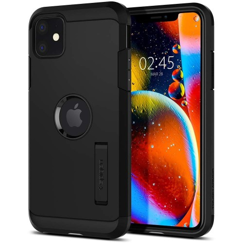 Etui do iPhone 11 Spigen Tough Armor [czarny]