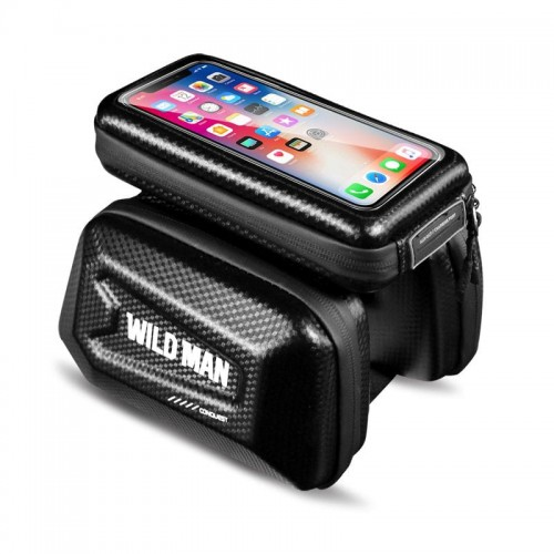 "SAKWA WILDMAN HARDPOUCH BIKE MOUNT ""XL"" BLACK 1"