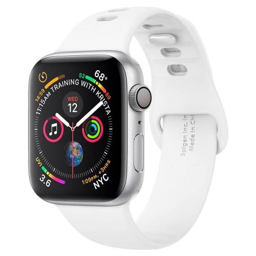 SPIGEN AIR FIT BAND APPLE WATCH 1-2-3-4-5 (42-44MM) WHITE 1.jpg