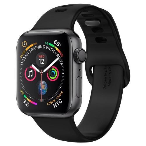 SPIGEN AIR FIT BAND APPLE WATCH 1-2-3-4-5 (38-40MM) BLACK 1.jpg