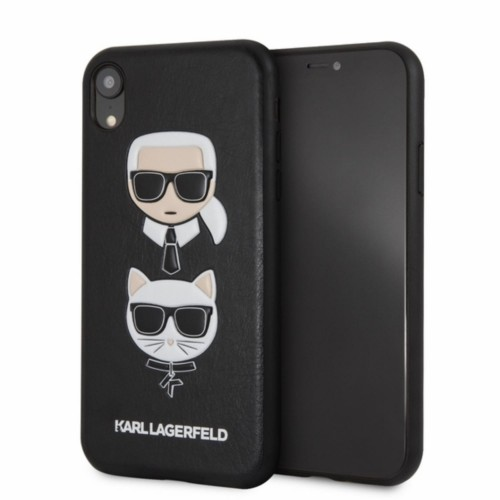 KARL LAGERFELD EMBOSSED CASE KARL & CHOUPETTE - ETUI IPHONE XR (BLACK) 1.jpg
