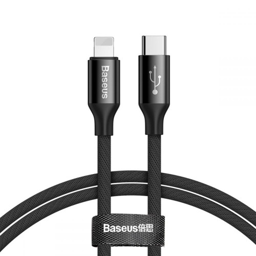 BASEUS YIVEN TYPE-C TO LIGHTNING CABLE 100CM BLACK 1.jpg