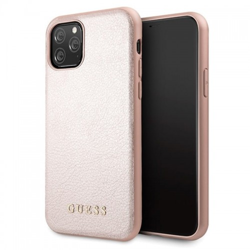 GUESS IRIDESCENT - ETUI IPHONE 11 PRO (ROSE GOLD) 1.jpg