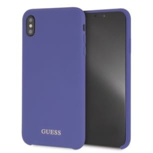 GUESS SILICONE - ETUI IPHONE XS MAX (PURPLE).jpg