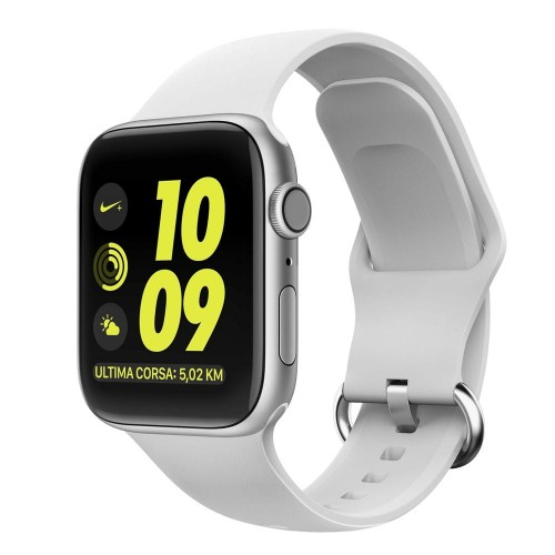 Pasek do Apple Watch 1/2/3/4/5/6/SE (38/40 mm) Tech-Protect Gearband [biały]