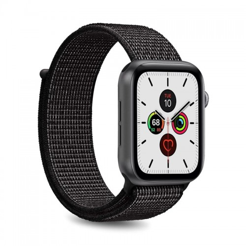 Pasek do Apple Watch 1/2/3/4/5 /6/SE (42/44 mm) Puro [czarny]