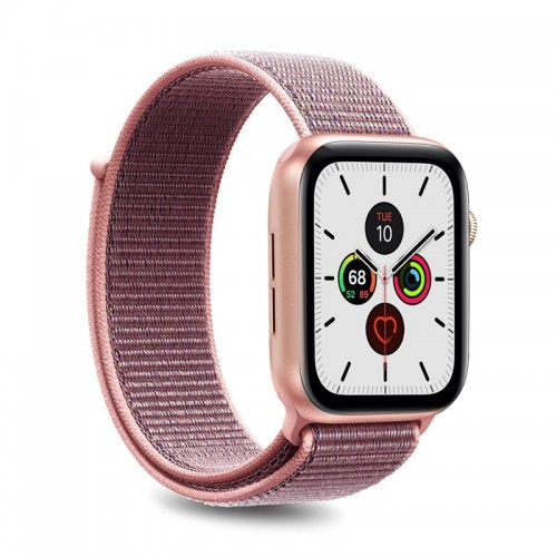 Pasek do Apple Watch 1/2/3/4/5/6/SE (42/44 mm) Puro [różowy]