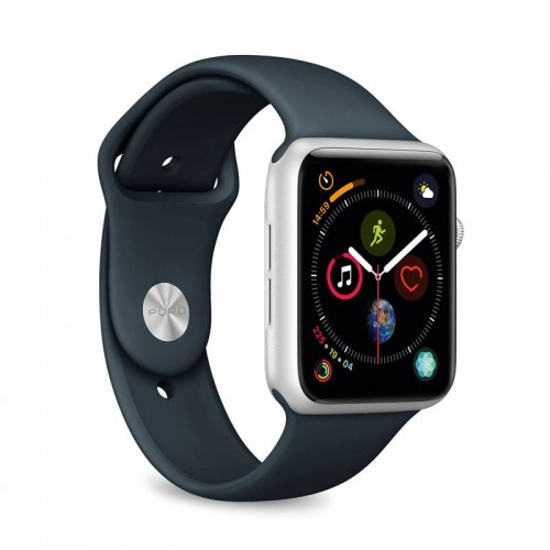 Pasek do Apple Watch 1/2/3/4/5/6/SE (42/44 mm) Puro Icon [ciemno niebieski]