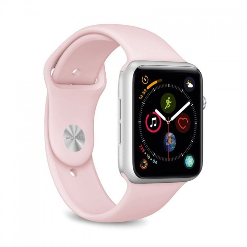 Pasek do Apple Watch 1/2/3/4/5/6/SE (42/44 mm) Puro Icon [piaskowy róż]