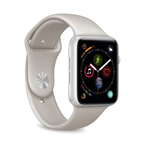 Pasek do Apple Watch 1/2/3/4/5/6 (42/44 mm) Puro Icon [taupe]