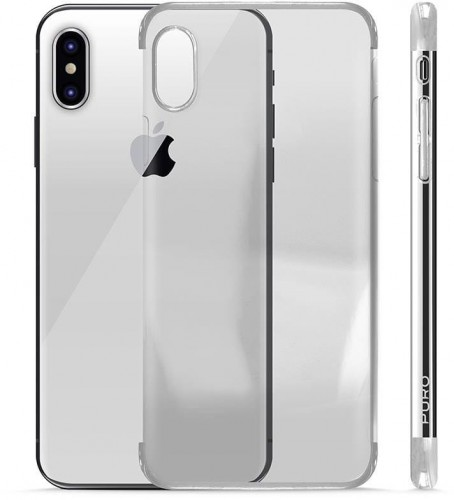 Verge Crystal Cover - Etui iPhone X (srebrny) 1.jpg