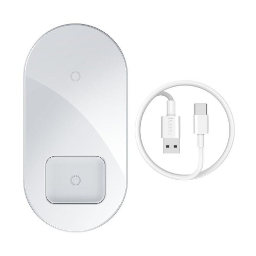 BASEUS SIMPLE PRO 2IN1 WIRELESS CHARGER WHITE 1.jpg
