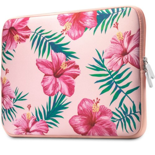TECH-PROTECT FLORAL LAPTOP 13-14 PINK 1.jpg