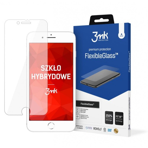 SZKŁO HYBRYDOWE 3MK FLEXIBLE GLASS IPHONE 7-8-SE 2020