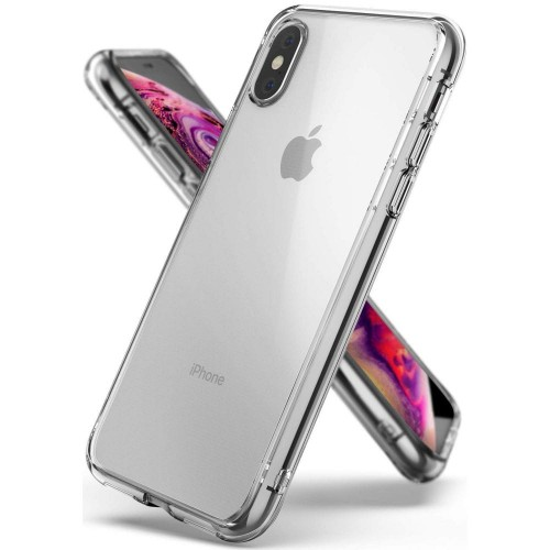 Etui do iPhone X-XS (5.8) Ringke Fusion Case [bezbarwne]