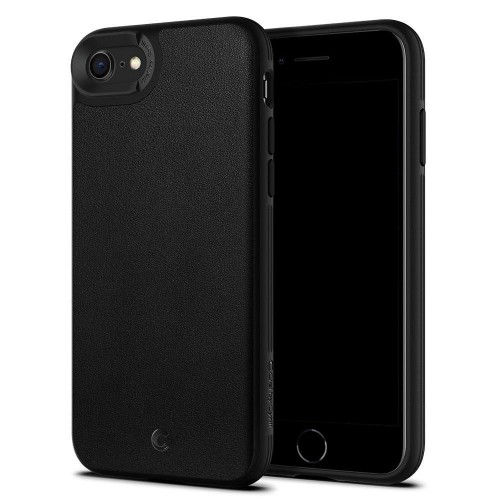Etui do iPhone 7/8/SE 2020 Spigen Ciel Leather Brick [czarny]