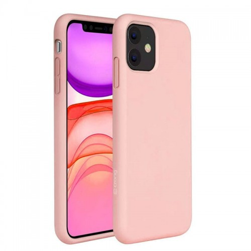 Etui do iPhone 11 Crong Color Cover [różowy]