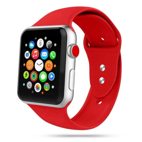 Pasek do Apple Watch 1/2/3/4/5/6 /SE (38/40 mm) Tech-Protect IconBand [czerwony]