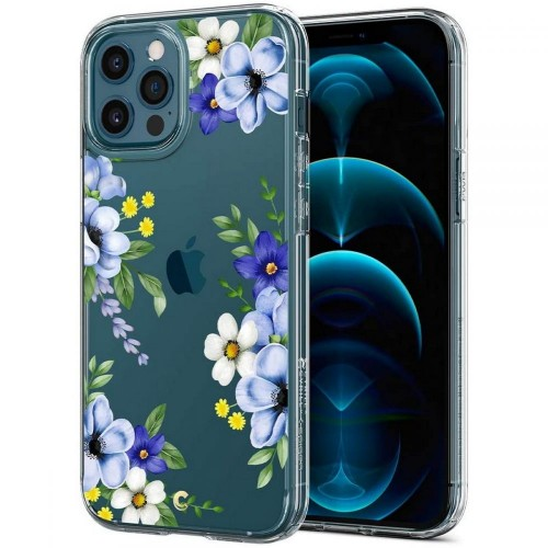 Etui do iPhone 12/12 Pro Spigen Cyrill Cecile [midnight bloom]