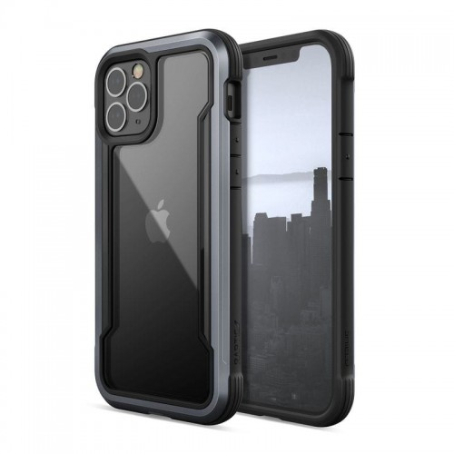 Etui do iPhone 12/12 Pro X-Doria Raptic Shield [czarny]