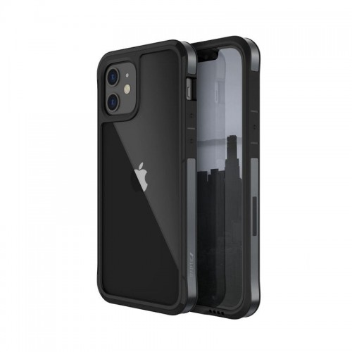 Etui do iPhone 12 Mini X-Doria Raptic Edge [czarny]