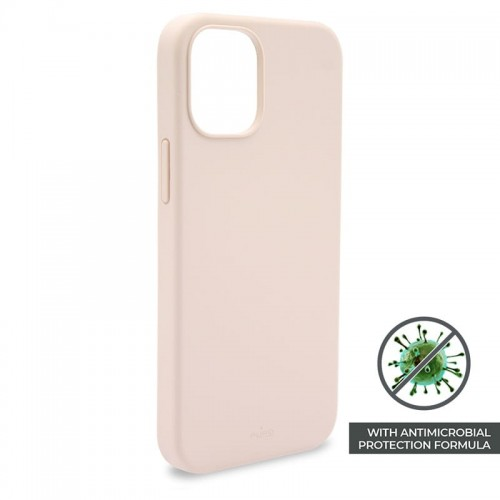 Etui do iPhone 12 Pro Max Puro Icon Anti-Microbial Cover [różowy]