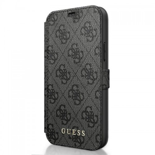 Etui do iPhone 12 Pro Max Guess BookType 4G Charms Collection [szary]