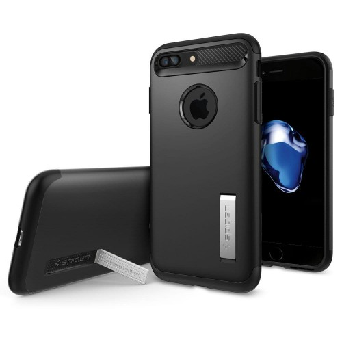 "Spigen Slim Armor [czarne], Etui do iPhone 7 Plus (5.5"")"