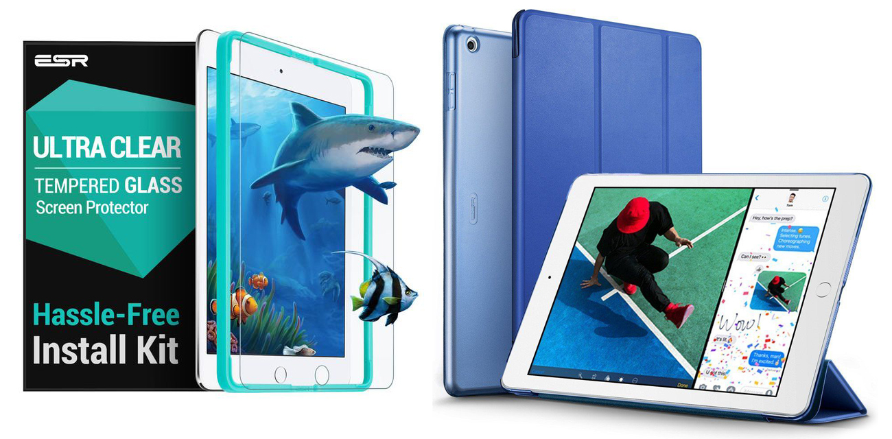 ESR iPad Case & Glass