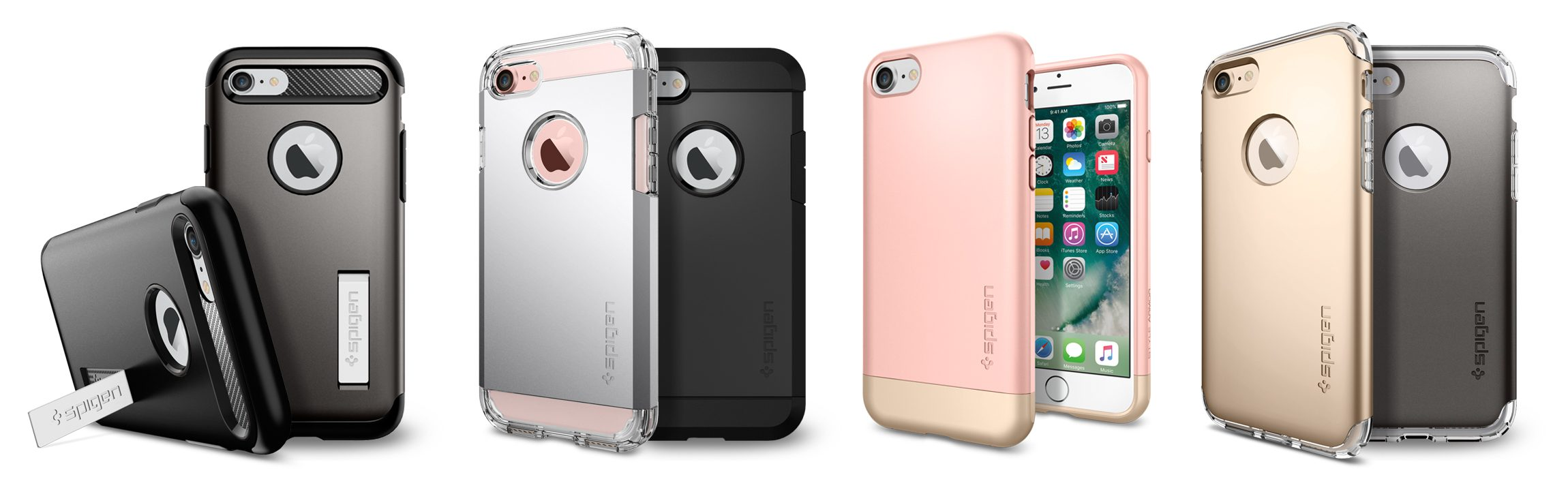 Spigen Pancerne Case'y do iPhone 7